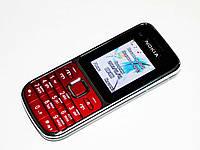 """Телефон Nokia C2 Красный - 2Sim+2""""+BT+camera+FM, фото 1"""