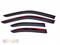 Вітровики Geely MK Sd 2008 AW air, фото 1