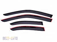 Вітровики Chevrolet Lanos Sd 2005 AW air, фото 1