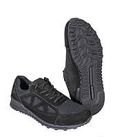 """Кросівки Trail 2,5"""" нубук зі вставками 3Д-Чорні сітки, фото 1"""