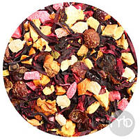 Чай фруктовый фруктовая смесь Папайя со сливками 50 г, фото 2