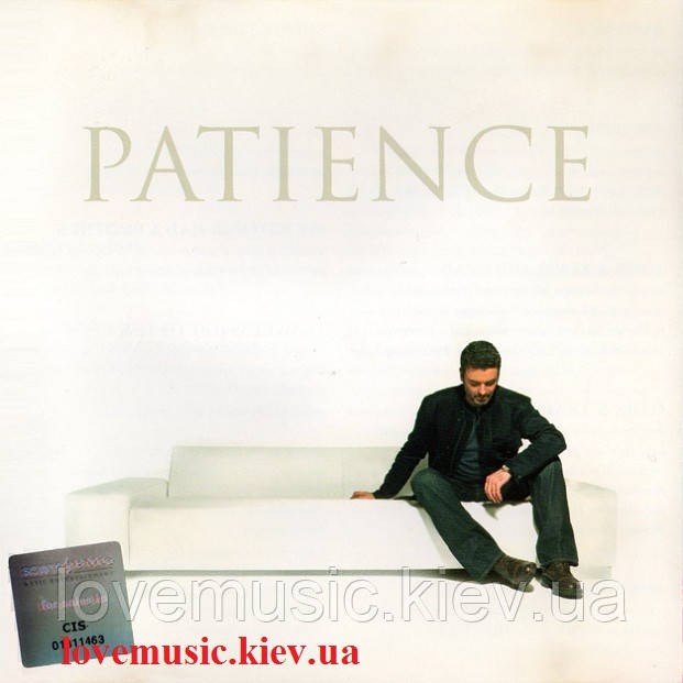 Музичний сд диск GEORGE MICHAEL Patience (2004) (audio cd)
