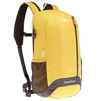 Рюкзак городской для путешествий желтый 20 литров (водонепроницаемый)
