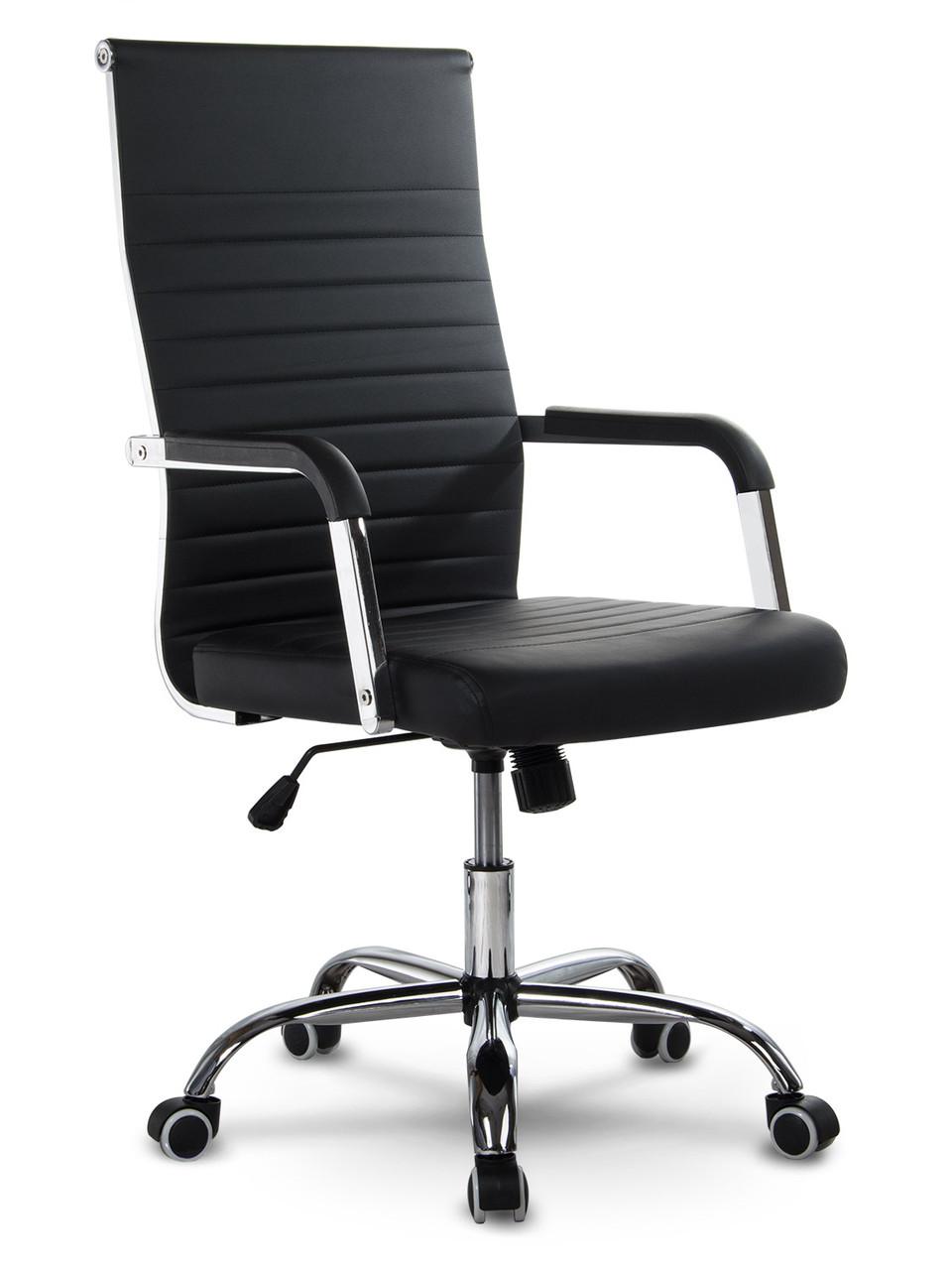 Кресло офисное современного дизайна Sofotel Boston черное