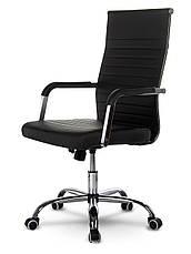 Кресло офисное современного дизайна Sofotel Boston черное, фото 2