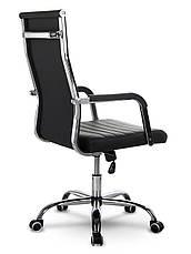 Кресло офисное современного дизайна Sofotel Boston черное, фото 3