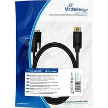 Кабель мультимедийный DVI to DisplayPort 2.0m Mediarange (MRCS131)