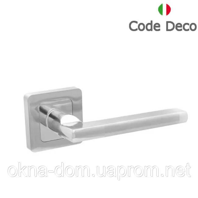 Ручки дверні Code Deco H-22050-A-CRM/CR