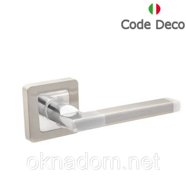 Ручки дверні Code Deco H-22050-A-NIS/CR