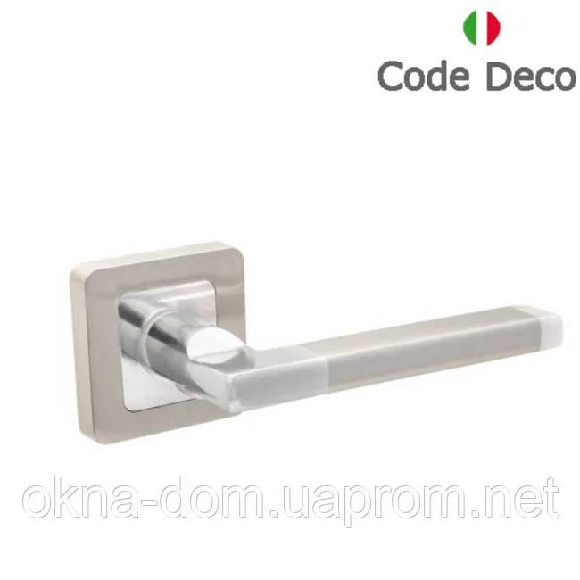 Ручки дверные Code Deco H-22050-A-NIS/CR