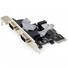 Контроллер PCIe to COM 2 ports Gembird (SPC-22)