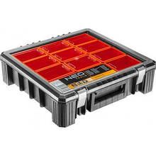 Ящик для инструментов Neo Tools органайзер с отделениями 40 x 40 x 12 см (84-130)