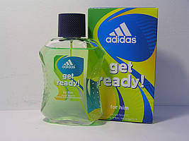 Туалетная вода Adidas Get Ready! For Him, Адидас гэт рэди 100ml