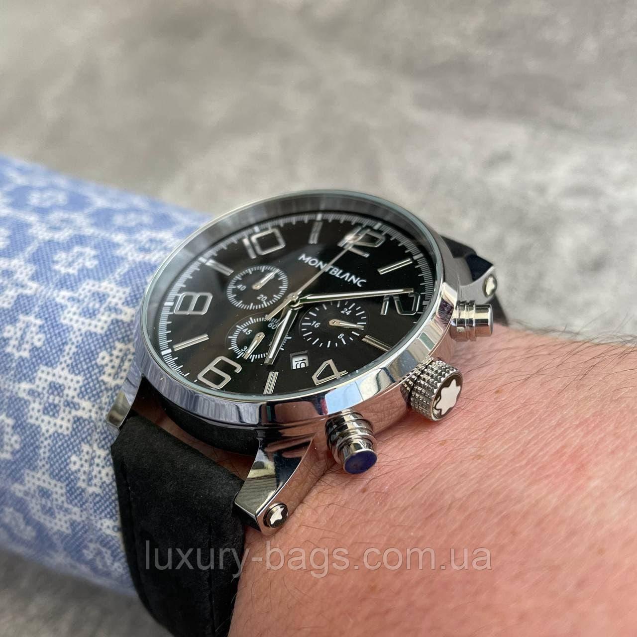 Годинники чоловічі наручні Mont Blanc TimeWalker