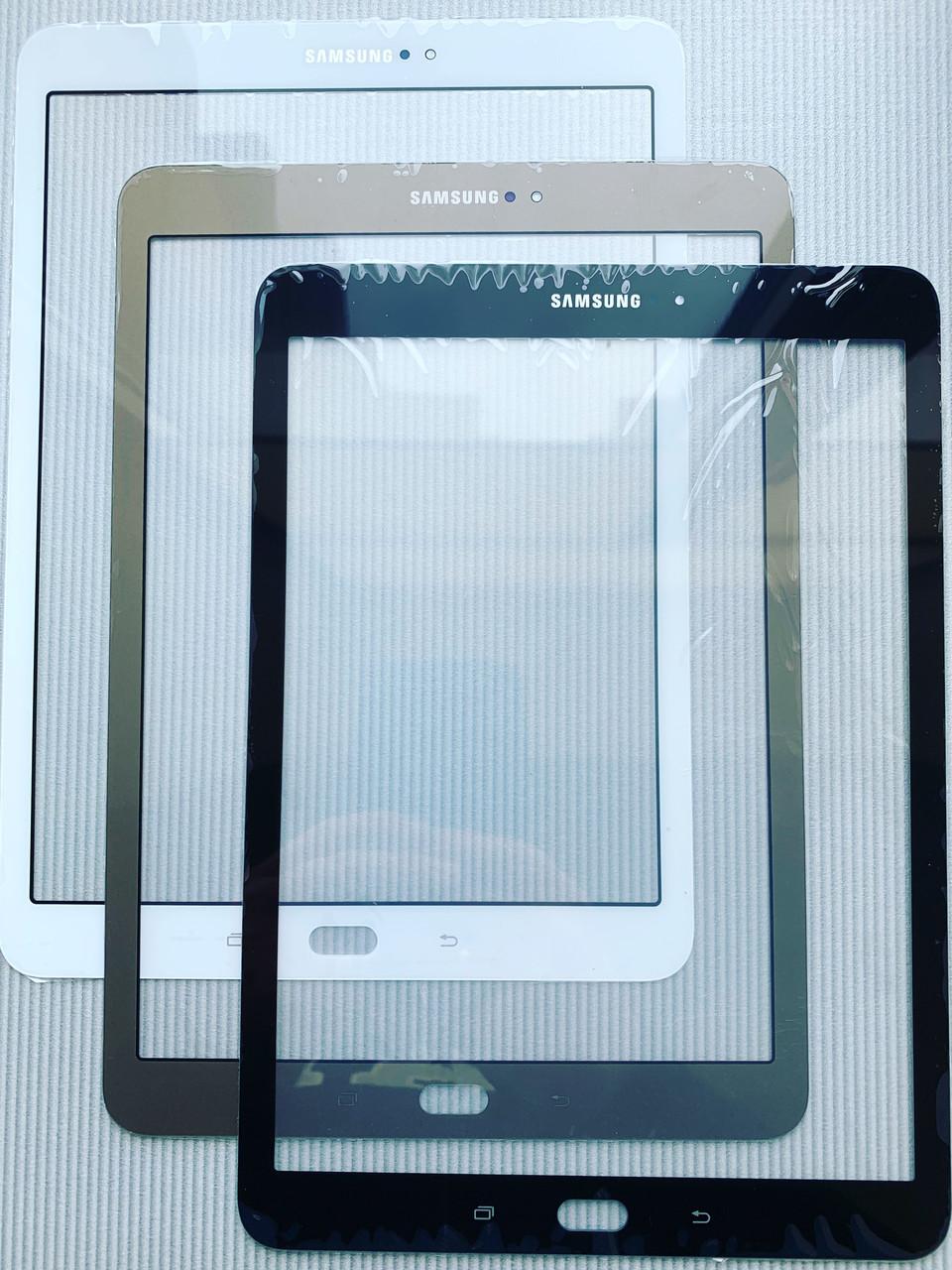 Скло корпусу Samsung T819 чорне