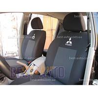 Чохли на сидіння Mitsubishi Colt 3D з 2007 р EMC-Elegant, фото 1