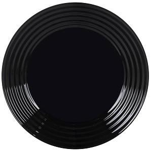 Тарілка Luminarc Harena кругла 19 см Black L7613