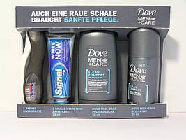 Дорожный мужской набор Dove (4 предмета)