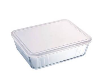 Форма для запікання прямокутна Pyrex Cook & Store з кришкою 27х23 см 244P000