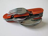 Складной нож с набором столовых инструментов
