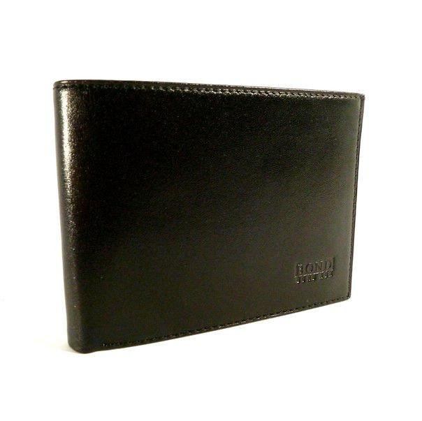 Кошелек мужской кожаный черный карты, монеты Bond Non 521-1 Турция