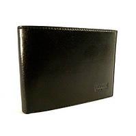 Кошелек мужской кожаный черный карты, монеты Bond Non 521-1 Турция, фото 1