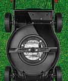 Бензиновая газонокосилка Германия PARKSIDE PBM 132 A1 с функцией мульчирования мощный и тихий двигатель, фото 7