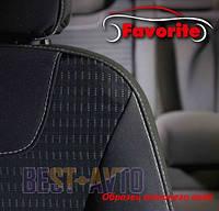 Чехлы на сидения ГАЗ ГАЗЕЛЬ 1+6 2012 Favorite