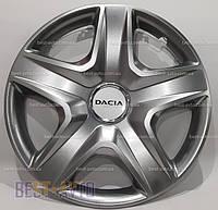340 Колпаки для колес на Dacia R15 (Комплект 4 шт.) SKS