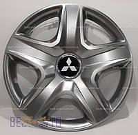 418 Ковпаки для коліс на Mitsubishi R16 (Комплект 4 шт.) SKS