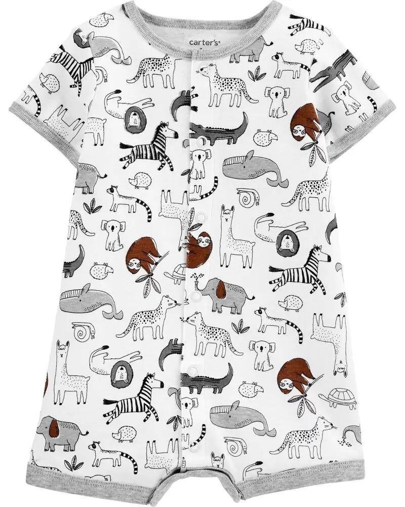 Класний пісочник трикотажний з тваринами Картерс для хлопчика
