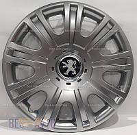 319 Колпаки для колес на Peugeot R15 (Комплект 4 шт.) SKS