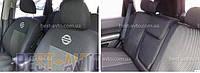 Чехлы на сидения Nissan Micra (K12) с 2003-10 г (деленная) EMC-Elegant, фото 1