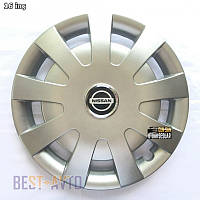 405 Ковпаки для коліс на Nissan R16 (Комплект 4 шт.) SKS