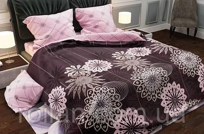 Двоспальний комплект постільної білизни Ромашка