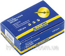 Кнопки золоті 100шт картонна упаковка ВМ 5103 10/500шт/уп