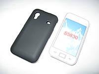 Чехол силиконовый Samsung Galaxy Ace S5830 Onyx черный
