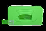 Дырокол пластиковый, RUBBER TOUCH, до 10 л., 120х58х59 мм, светло-зеленый, фото 4