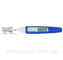 Корректор-ручка, 8 мл, эмульс. основа, металлический наконечник