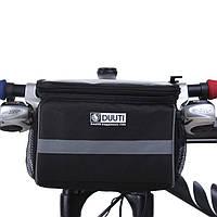 Велосипедная сумка на руль Duuti для смартфона и планшета, фото 1