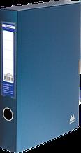 Папка-бокс на липучці А4 55мм ВМ 3201-03 синя 48шт/уп