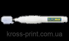 Корректор-ручка, 12 мл, спиртовая основа, металлический наконечник