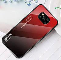 Чохол Xiaomi Poco Pro X3 Gradient Hello