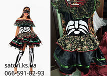 Скелет девушка карнавальный костюм BL - ВЖ342