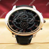 Элегантные наручные часы Patek Philippe Sky Moon Black/Gold/Black 1927