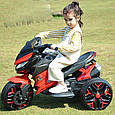 Детский спортивный электромотоцикл BMW Sport (синий цвет), фото 5