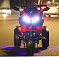 Детский спортивный электромотоцикл BMW Sport (синий цвет), фото 6