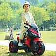 Детский спортивный электромотоцикл BMW Sport (синий цвет), фото 7