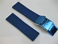 Ремешок к часам BREITLING 24x20mm каучуковый с фирменной застежкой. PREMIUM