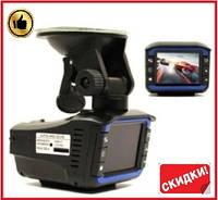 Видеорегистратор автомобильный с антирадаром 2 в 1 DVR VG3 1080P видеорегистратор для авто с ночным видением